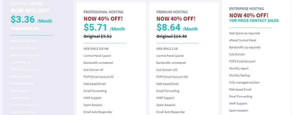 Web hosting hostnoc deals