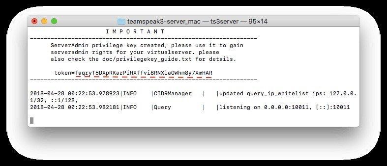 teamspeak 3 server mac